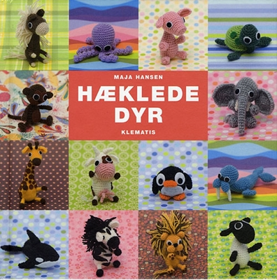 Hæklede dyr Maja Hansen 9788764105858