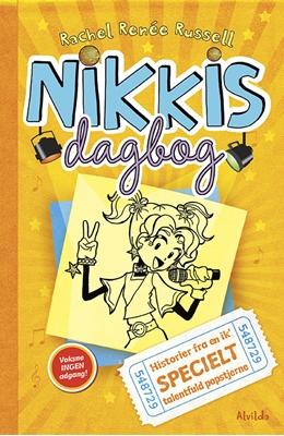 Nikkis dagbog 3: Historier fra en ik' specielt talentfuld popstjerne Rachel Renee Russell 9788771653106