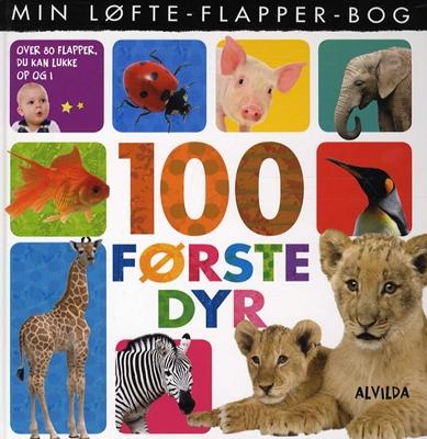 Min løfte-flapper-bog - 100 første dyr  9788771056310