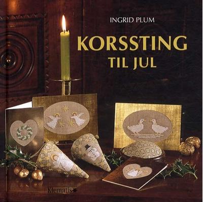 Korssting til jul (lille format) Ingrid Plum 9788771390056