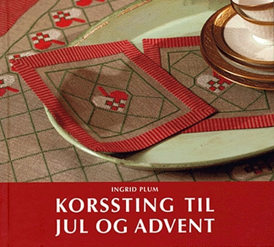 Korssting til jul og advent Ingrid Plum 9788779059290