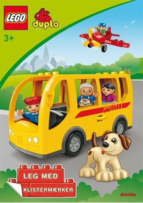 LEGO DUPLO - Bussen - Sjov med klistermærker (sæt a 3 stk. Pris pr. stk. 39,95) LEGO 9788771053302