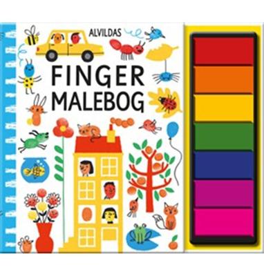 Alvildas fingermalebog Fiona Watt 9788771652444