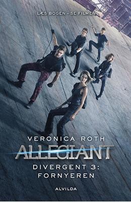 Divergent 3: Allegiant - film udgave VERONICA ROTH 9788771653069