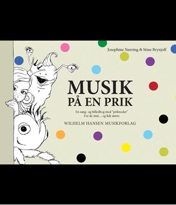 Musik på en prik Josephine Nørring, Stine Brynjolf Pedersen 9788759825068