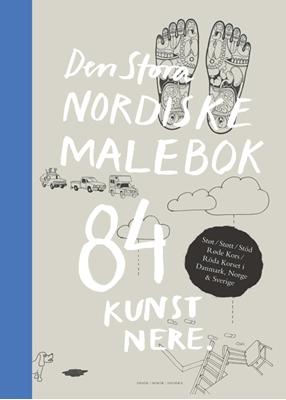 Den Stora Nordiske Malebok Lærke Hein 9788799386338