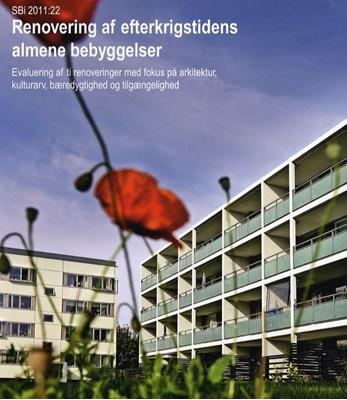 Renovering af efterkrigstidens almene bebyggelser m.fl, Claus Bech-Danielsen 9788756315463