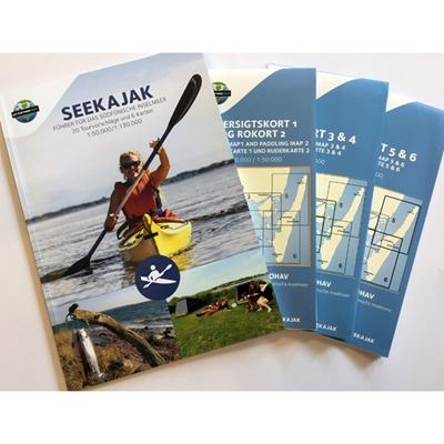 Seekajak - Führer für das südfünische Inselmeer Naturturisme I/S 9788799399246