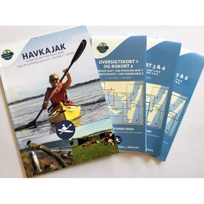 Havkajak - Guide til Det Sydfynske Øhav Naturturisme I/S 9788799980901