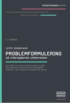Problemformulering Lotte Rienecker 9788759320761