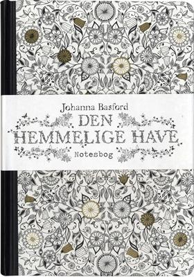 Den hemmelige have - notesbog Johanna Basford 9788740031652