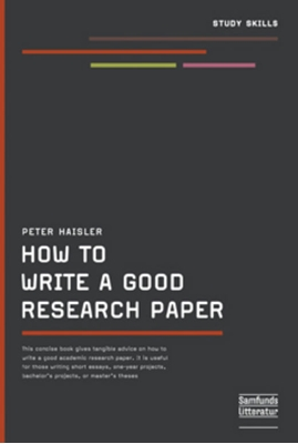 How to write a good Research Paper Peter Haisler 9788759315552