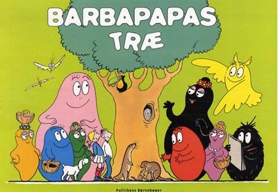 Barbapapas træ Annette Tison 9788740008630