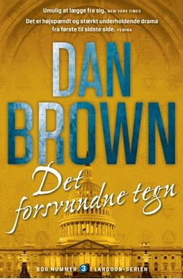 Det forsvundne tegn Dan Brown 9788740044065