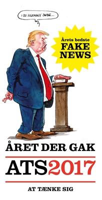 Året der gak - ATS 2017 Gorm Vølver, Ole Rasmussen 9788740036664
