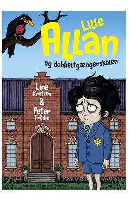 Lille Allan og dobbeltgængerskolen Line Knutzon, Peter Frödin 9788740010121