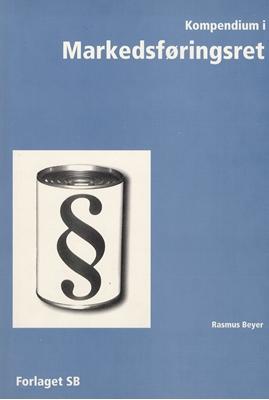 Kompendium i Markedsføringsret Rasmus Beyer 9788791433634
