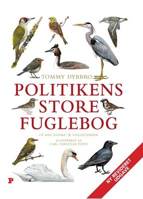 Politikens store fuglebog Tommy Dybbro 9788740006797