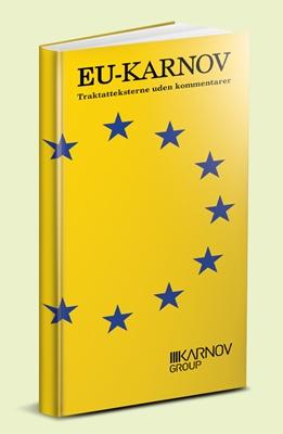 EU-Karnov traktatteksterne uden kommentarer  9788761935366