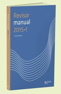 RevisorManual 2015/1 T. Helmo Madsen 9788761936318