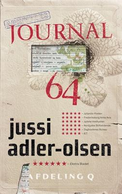 Journal 64 Jussi Adler-Olsen 9788740001006