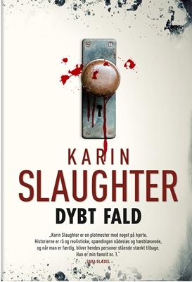 Dybt fald (pb stort format) Karin Slaughter 9788792845078