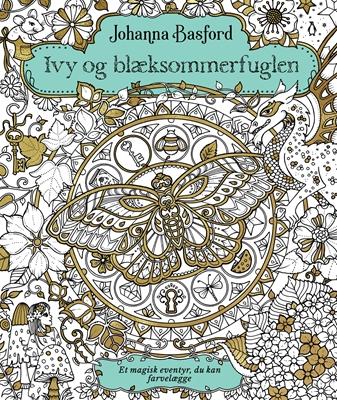 Ivy og blæksommerfuglen Johanna Basford 9788740039009