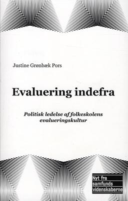 Evaluering indefra Justine Grønbæk Pors 9788776830175