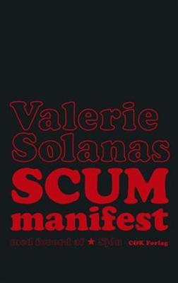 SCUM Manifest Valerie Solanas 9788792523334