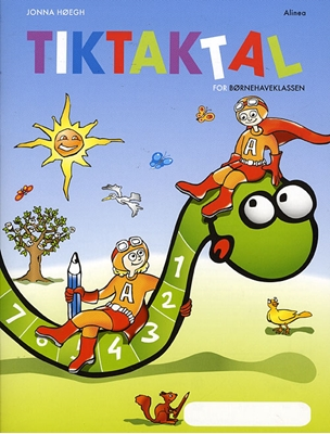 Matematik-Tak, Tik-Tak Tal Jonna Høegh 9788723028426