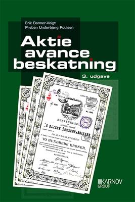 Aktieavancebeskatning Erik Banner-Voigt, Preben Underbjerg Poulsen 9788761934178