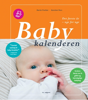 Babykalenderen Dorte Fischer, Karsten Pers 9788791626265