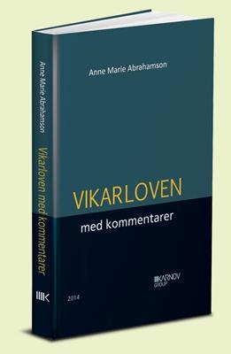 Vikarloven med kommentarer Anne Marie Abrahamson 9788761935755