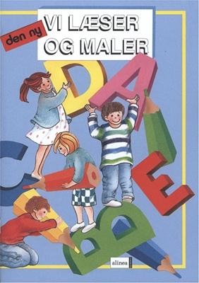 S og M-bøgerne, 1.Trin, Vi læser og maler Knud Hermansen, Ejvind Jensen 9788723955937