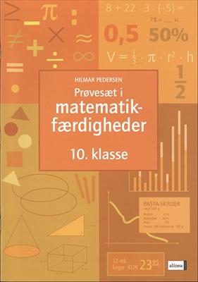 Prøvesæt i matematikfærdigheder, 10.kl. Hilmar Pedersen 9788723001481