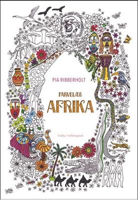Farvelæg Afrika Pia Ribberholt 9788771902525