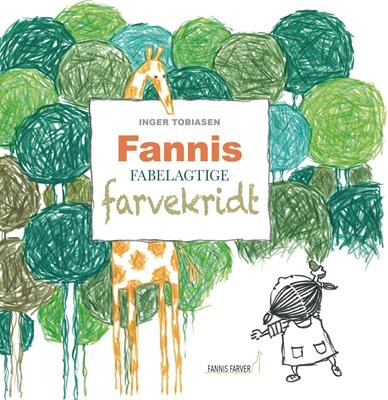 Fannis fabelagtige farvekridt Inger Tobiasen 9788799940448