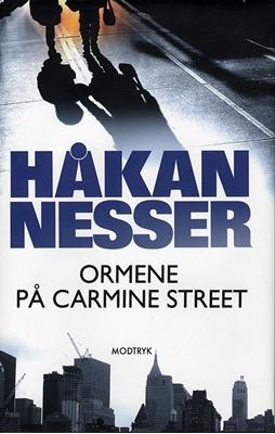 Ormene på Carmine Street Håkan Nesser 9788770533829
