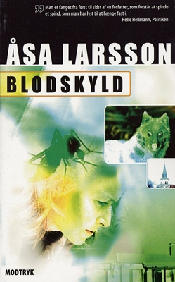 Blodskyld Åsa Larsson 9788773949702