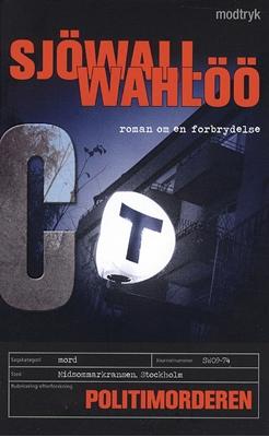 Politimorderen Sjöwall/ Wahlöö 9788770530613