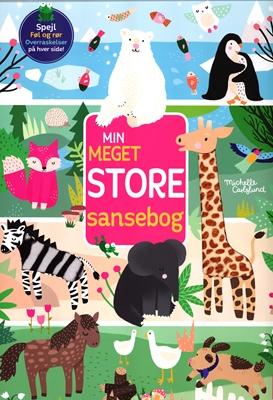 Min meget store sansebog Forlaget Auzou, Michelle Carlslund 9788797013106