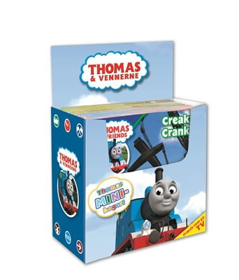 Thomas tog mini display  9788792900401