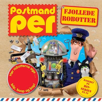 Postmand Per - Fjollede robotter – lydknapbog  9788792900074