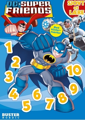 DC Superfriends: Sjovt at lære: Tal og regnestykker  9788792900883