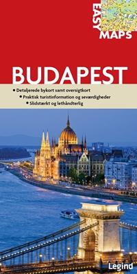 Easy Maps - Budapest Conny Mikkelsen 9788771550603