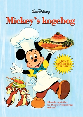 Disney Mickey Mouse Kogebog  9788793267428