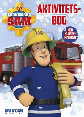 Aktivitetsbog med Brandmand Sam Ukendt forfatter 9788792900968