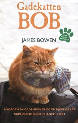 Gadekatten Bob James Bowen 9788771420234
