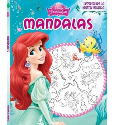 Disney Prinsesser Mandalas - Ariel  9788793065833