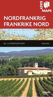Easy Maps Nordfrankrig Af Legind A S